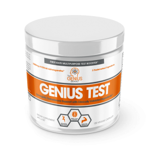 The Genius Brand Genius Test 120 Veggie Caps