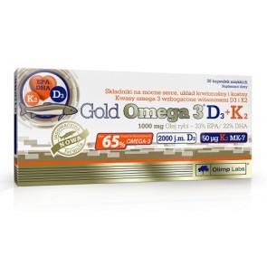 Olimp Omega 3 D3 + K2 - 30 Kapsel