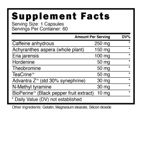 Viper X 60 Caps