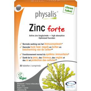 Physalis Zinc Forte 30 Tabs