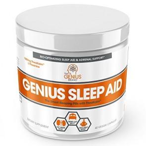 The Genius Brand Genius Sleep Aid 40 Veggie Caps