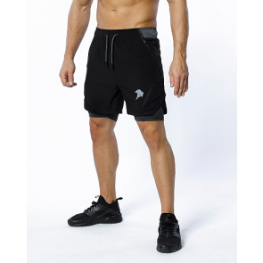 PROBROWEAR - Performance Shorts Black