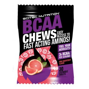 Scitec BCAA Chews 10x30 Chewable Tabl.
