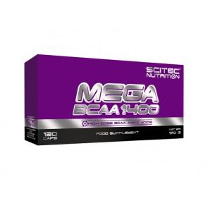 Scitec Mega BCAA 1400, 120 Kapsel