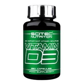 Scitec Vitamin D3 250 Kapsel