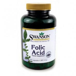 Swanson Folic Acid 250 Kapsel