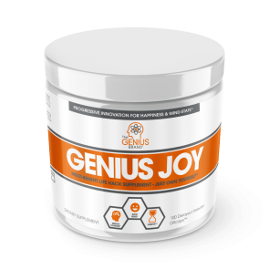 The Genius Brand Genius Joy 100 DR caps