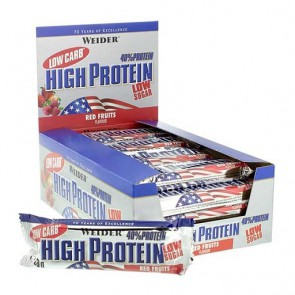 Weider Low Carb High Protein Riegel 20x100g