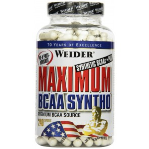 Weider Maximum BCAA Syntho + PTK 240 Kapsel